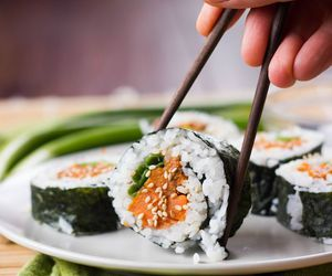 food, sushi, and foodporn image