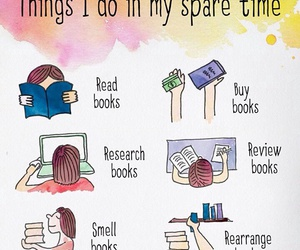 book, read, and bookworm image