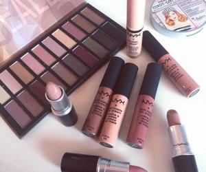 cosmetics, nyx cosmetics, and makeup image
