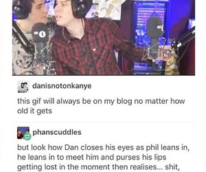 amazingphil, phan, and dan and phil image