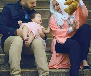 baby, family, and happy image