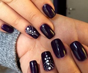 chic, shinny, and nails image