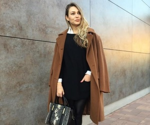 bag, coat, and fashion image