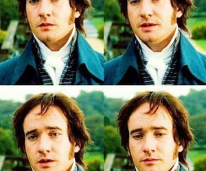 Mr. Darcy and jane austen image