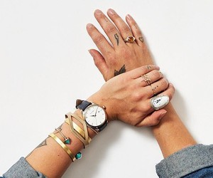 art, fashion, and hands image
