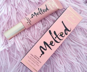 too faced, makeup, and melted image