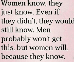 woman, quotes, and know image
