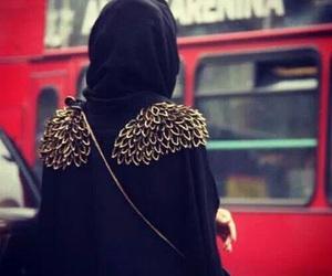 hijab, abaya, and islam image