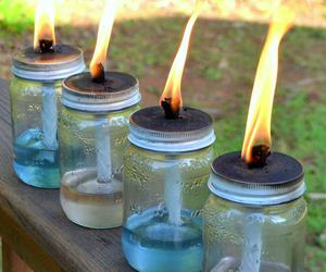 beautiful, container, and candle image