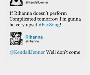 rihanna, funny, and kendall jenner image