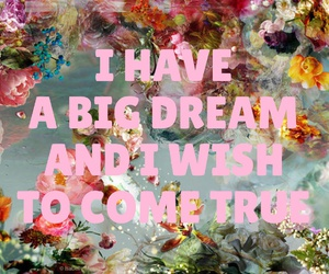 big, Dream, and easel image