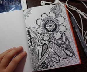 art, drawing, and doodling image