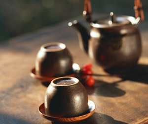 cups, kettle, and inspiration image