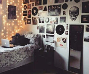 room, bedroom, and grunge image