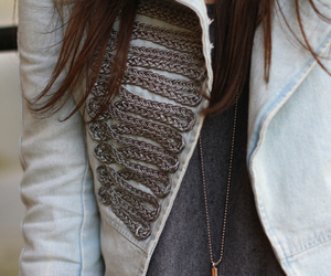 fashion, girl, and jacket image