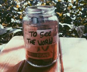money, travel, and world image