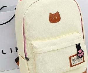 cat, backpack, and bag image