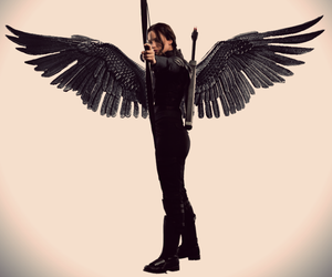 Jennifer Lawrence, the hunger games, and tribute image
