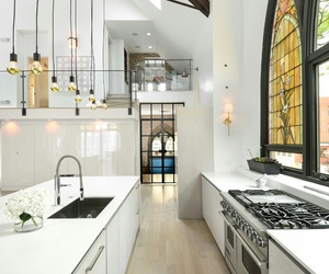 kitchen, design, and house image