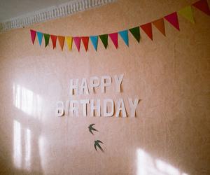 vintage, birthday, and happy birthday image