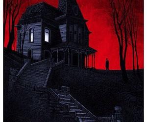 film, batesmotel, and horror image