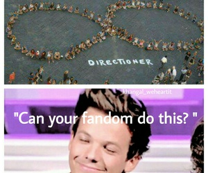 fandom, louis tomlinson, and one direction image