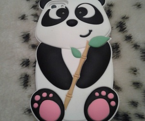 cover, iphone, and panda image
