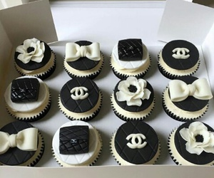 chanel and cupcake image