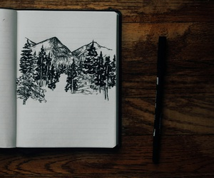sketch, art, and draw image