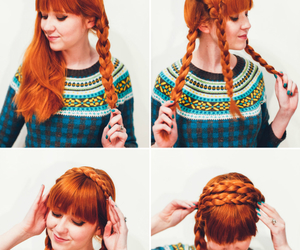 beauty, how to, and braids image