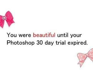 photoshop, beautiful, and quote image