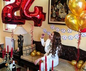 24, birthday, and cake image