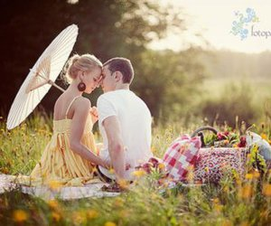 couple, nature, and cute image