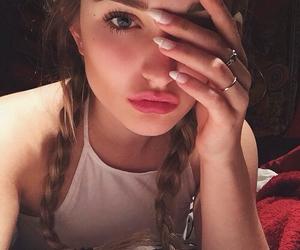 girl, tumblr, and braids image