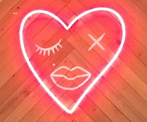 heart and neon image