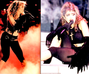 burning up, madonna, and crazy for you image