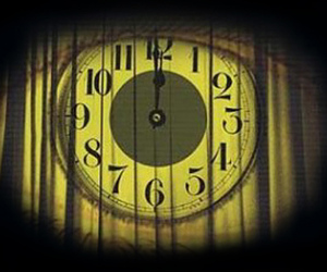 eye, light, and clock midnight image