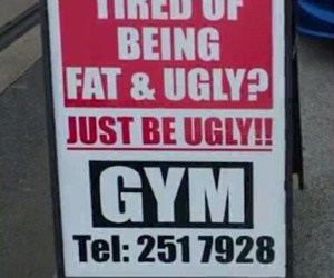 gym, funny, and ugly image