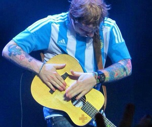 argentina and ed sheeran image