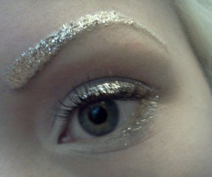 eyes, glitter, and snow image