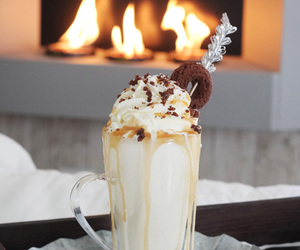 food, chocolate, and winter image