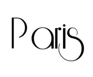 text, paris, and fashion image