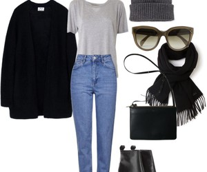 beanie, celine, and Collage image