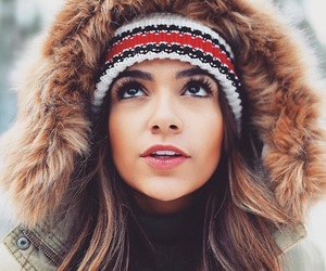 bethany mota, winter, and youtuber image
