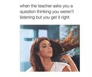 school, funny, and teacher image