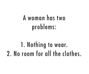 quote, woman, and problem image