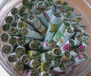 weed, marijuana, and joint image