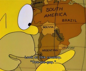 simpsons, funny, and uruguay image