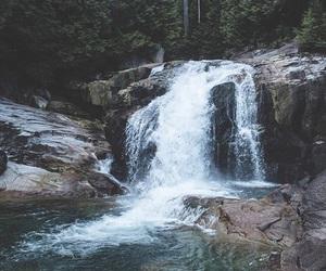 lake, pretty, and rocks image