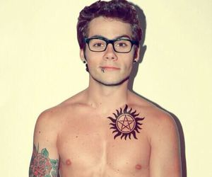 dylan o'brien, Hot, and tattoo image